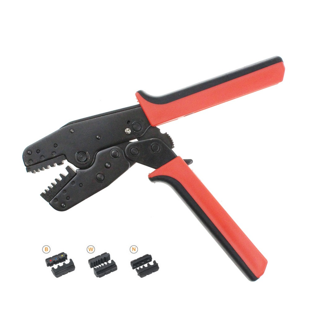 LAS-005 Universal Crimp Of Energy Saving Crimping Pliers Two Sets Of Dies At Both Side For Using And Storing Easily Crimper Tool цена