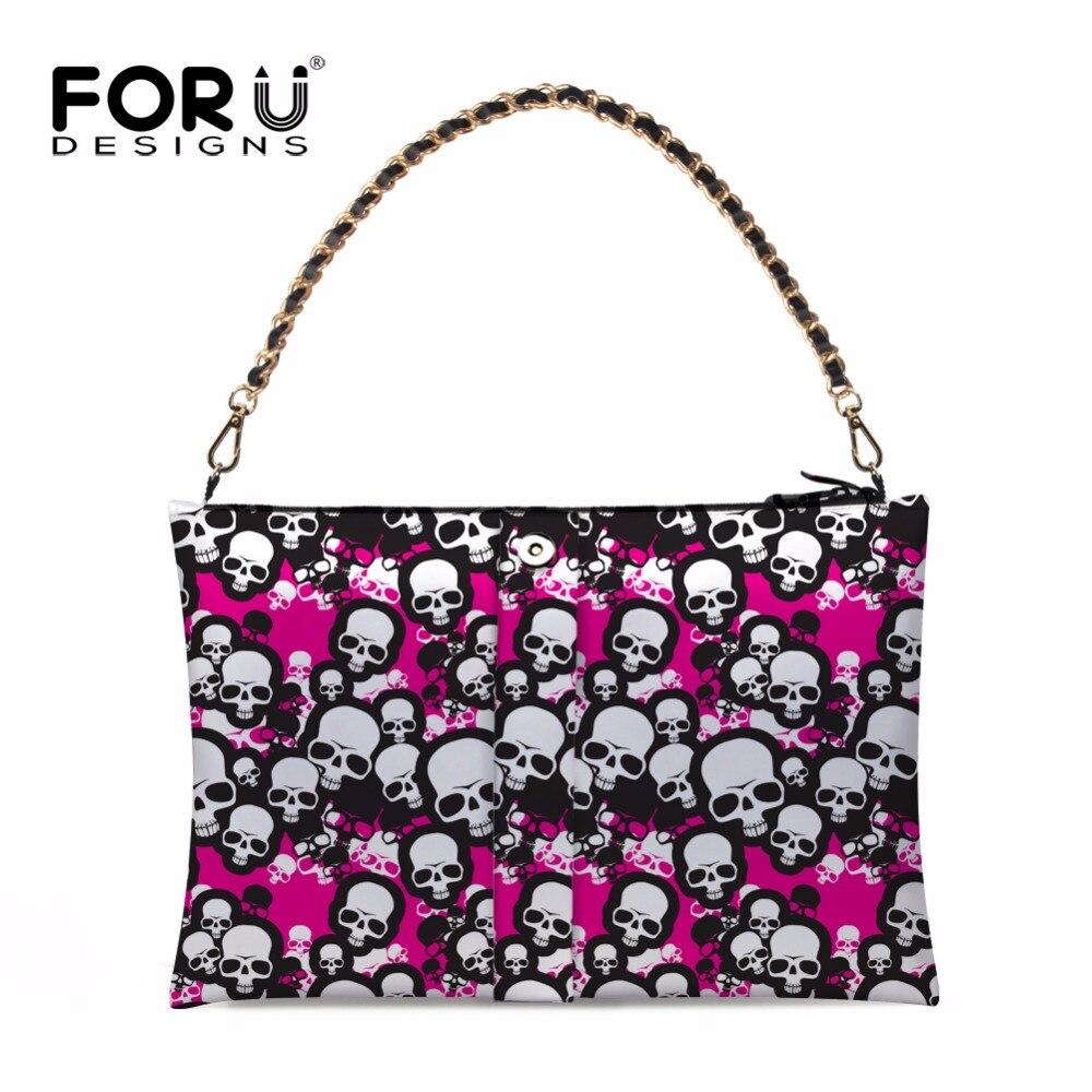 ФОТО High Quality Women Handbags Fashion Skulll Printed Ladies Tote Bags  Summer Single Shoulder Bag Designer Bbolsas Feminina Fold