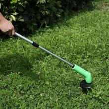 Protable Grass Trimmer  Lawn Mower Grass Trimmer Garden Edging Decor Tool  With Telescopic Rod Ties Rotary Electric Drill