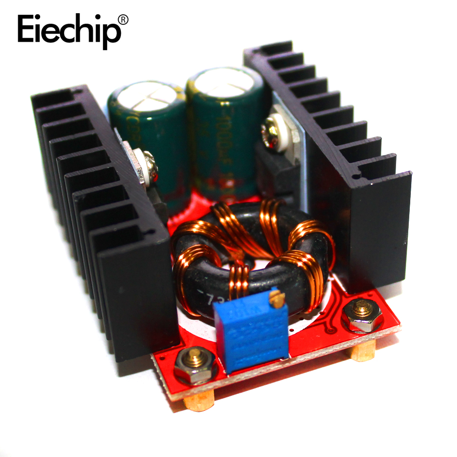 150W DC-DC Boost Converter Power Supply Module 10-32V to 12-35V 6A DC DC Step-Up Power Board DIY Electric Voltage Charger Module