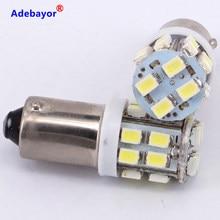 Ampoules solaires Led SMD BA9S 1206 3020 20 T4W 12V, 10 pièces, accessoires de voiture, feux blancs de dégagement