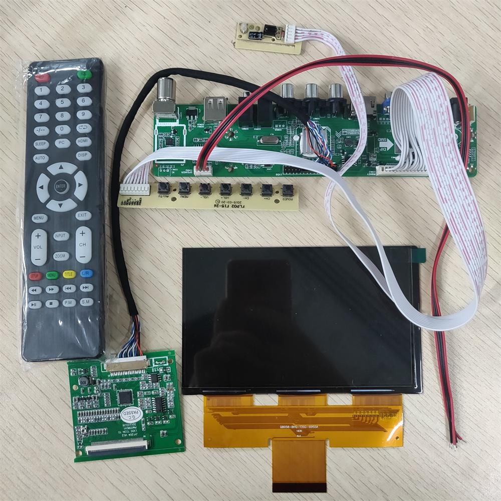 5.8 inch 1280*768 lcd screen with 5 in 1 driver board support analog DVBT2/DVB-T/DVB-C TV media DIY projector 16:95.8 inch 1280*768 lcd screen with 5 in 1 driver board support analog DVBT2/DVB-T/DVB-C TV media DIY projector 16:9