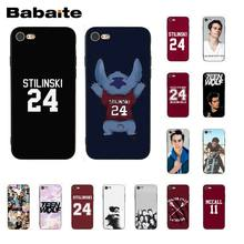 Babaite Dylan O'Brien Teen Wolf Stilinski 24 McCALL 11 Phone Case for iphone 11 Pro 11Pro Max 6S 6plus 7 8 8Plus X Xs MAX 5S XR(China)