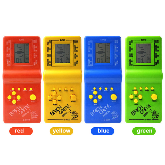 Free Delivery Classic Tetris Electronic Portable LCD Game Console Childrens Puzzle Toys Video