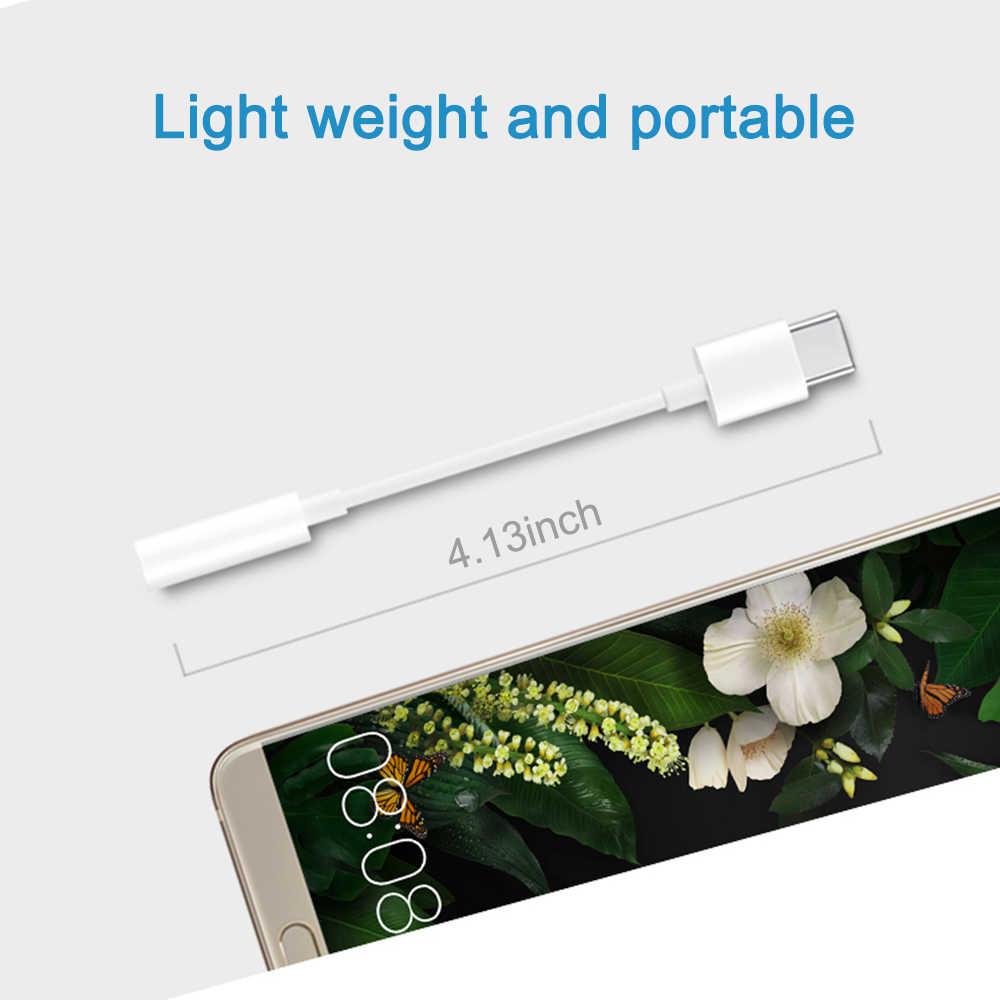 USB C Male to 3.5mm Female Stereo Earphone Jack Digital Audio 24BIT HD Adapter For iPad Pro Huawei P20 Google Pixel 2/2XL 3/3XL