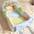 Детская кровать многофункциональный чистый хлопок кровать в game pad нести портативный гамак раскладушка
