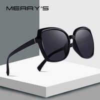 MERRYS DESIGN Women Fashion Cat Eye Sunglasses Lady Polarized Driving Sun Glasses 100% UV Protection S6087