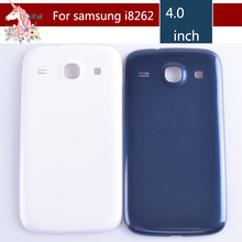 For Samsung Galaxy Core I8260 I8262 GT-I8262 GT-I8260 Housing Battery Cover Door Rear Chassis Back Case Housing Replacement