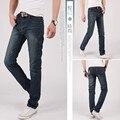 Logotipo Da Marca Dos Homens calças de Brim de Alta Qualidade Stripe Magro Jeans Preto Para Os Homens Designer de Moda Jeans Skinny Jeans calças de Brim Dos Homens Herrenhose
