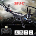 JJRC H8C Drone H8C Quadcopter DFD F183 2.4G 4CH 6 Axis Remote Control RC Quadcopter Helicopter With 2MP Camera RTF VS X5C X5C-1