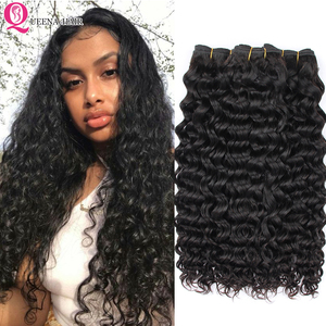 Натуральные волнистые волосы Remy для наращивания, 3/4 пучка, 100% натуральные, волнистые, волнистые, от производителя