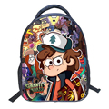 Small Children Backpack Anime Gravity Falls Backpack Nylon Rucksack Mohila Kindergarten School Bag Fashion Boys Girls Schoolbag
