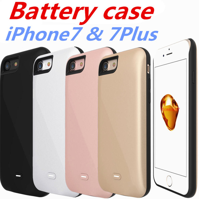 Battery Case for iPhone 7Plus Armor Case Power Bank Back Cover for iPhone 7 Plus Battery Backup High Capacity 3800mAh 7500mAh