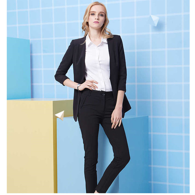 Aliexpress.com : Buy Hot Sales Women Business Suits Custom made ...