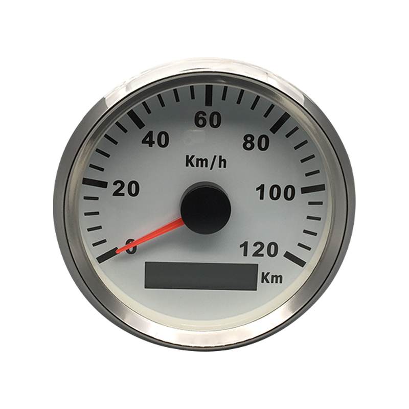 New Waterproof 85mm GPS Speedometer 120km h For Car Boat Truck Motor Auto With Red Backlight