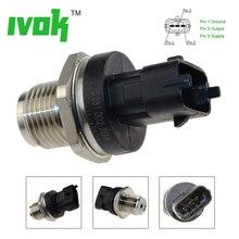 Newest! 1800 Bar Free Shipping Fuel Pressure Sensor 0281002937 0281002706 0281002903 For Cummins Volvo Iveco Man Fiat Renault