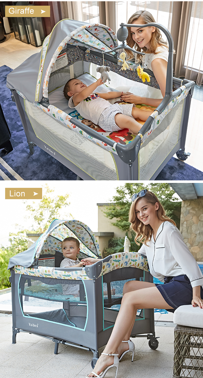 Cheap baby folding bed
