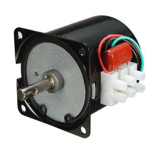 Image 1 - 60 KTYZ 220 V 14 W แม่เหล็กถาวรไฟฟ้าซิงโครนัสมอเตอร์เกียร์ 50Hz 15r/min ขายร้อน