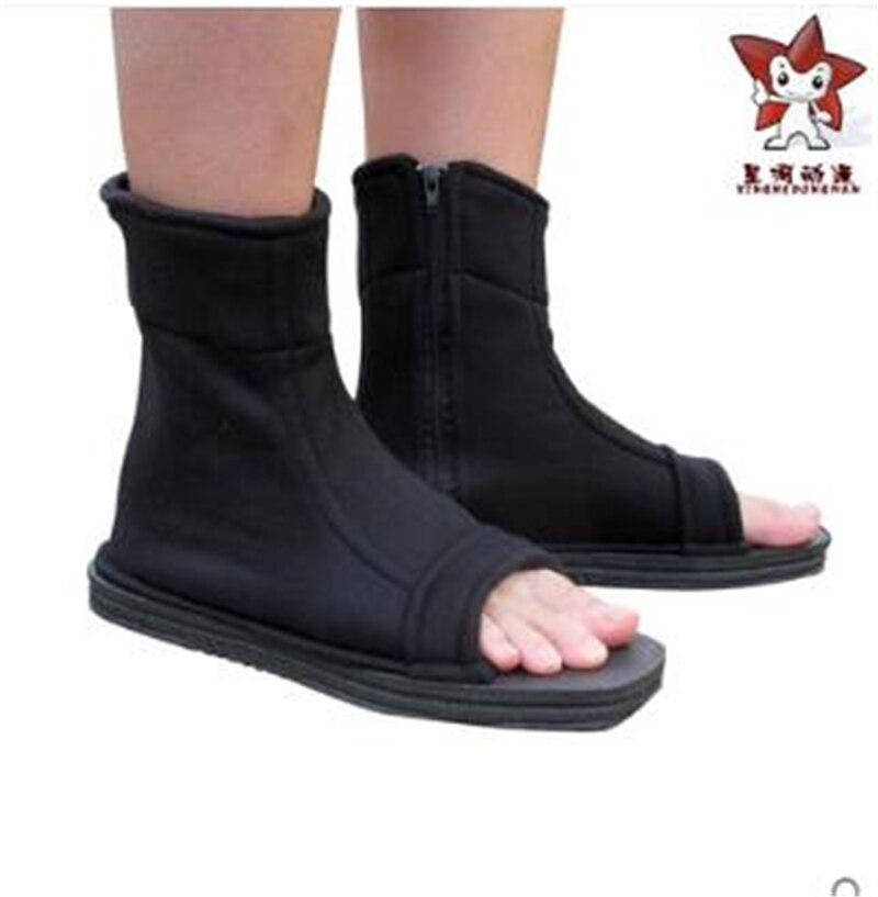 4 colors font b Naruto b font font b Cosplay b font Shoes Akatsuki Nanja Cos
