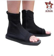 4 цвета Наруто Косплей Обувь-Акацуки Nanja Cos Аниме Косплей Костюм для Halloween Party Ботинки Черный Синий