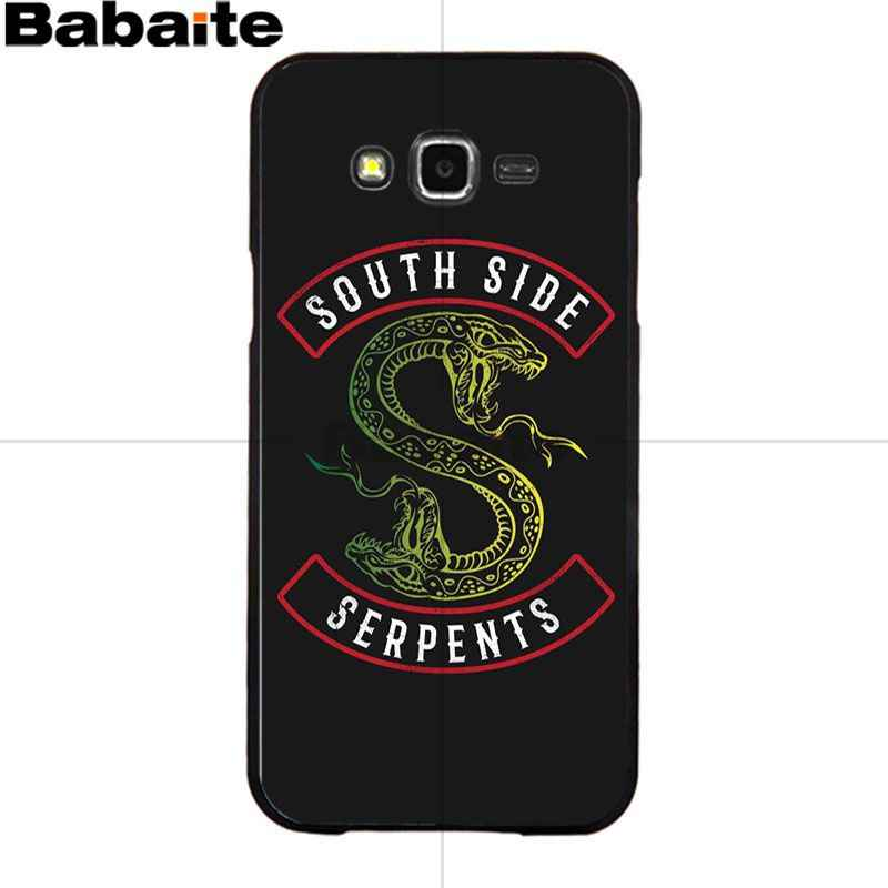 Babaite Riverdale South Side Serpents Silicone Soft TPU phone Case Cover for Samsung 2015J1 J5 J7 2016J1 J3 J5 J7 Note3 4 5