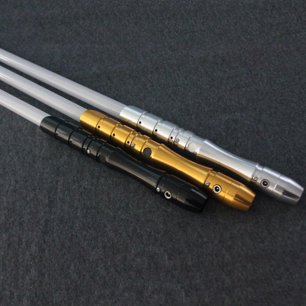 Sabre laser avec son léger Jedi Sith Luke sabre léger Force lourde Dueling couleur changeante son FOC verrouiller métal poignée épée - 3