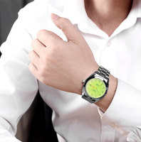 Kadınlar mor Deri Kayış Quartz Saat Bayanlar Moda İzle Feminino Saatler Bilezik Kuvars Bilek İzle Kelebek