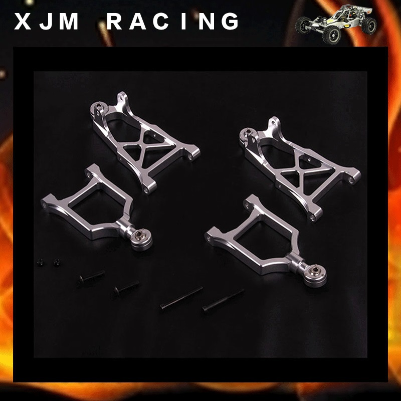 1/5 Rc Car alloy front arm kits fit hpi rovan km baja 5b 2017 new rovan 1 5 scale gasoline rc car baja 5b high strength nylon frame 29cc engine warbro668 symmetrical steering