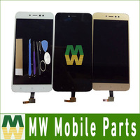 1PC Lot For Xiaomi Redmi 5A Prime LCD Display Touch Screen Digitizer Assembly Black White Gold