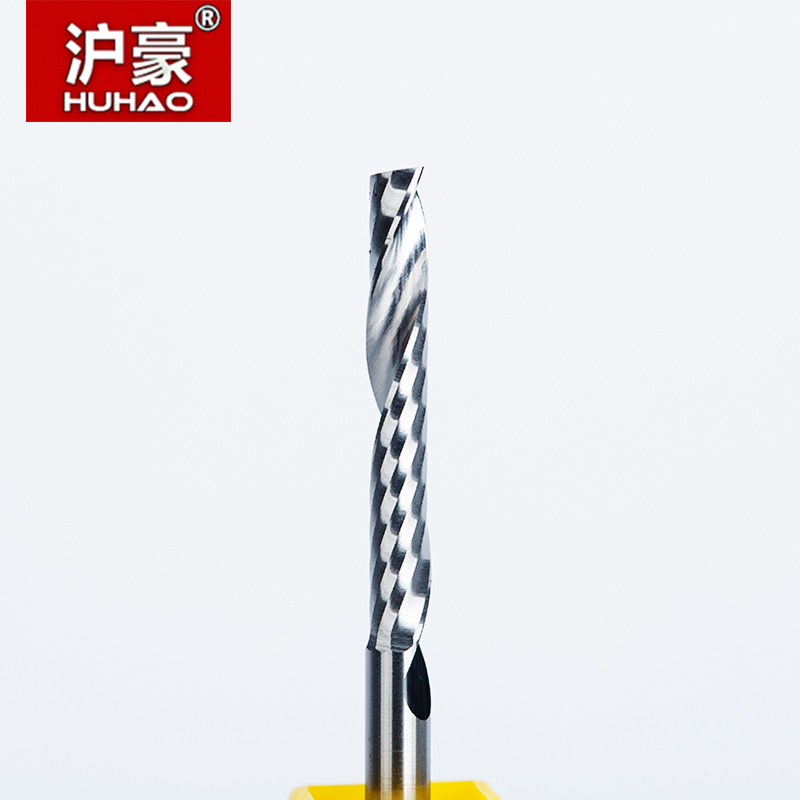 5Pcs 0.5mm End Mill for Deep Slot 4mm Shank Long Neck 2 Flute CNC Router Bits