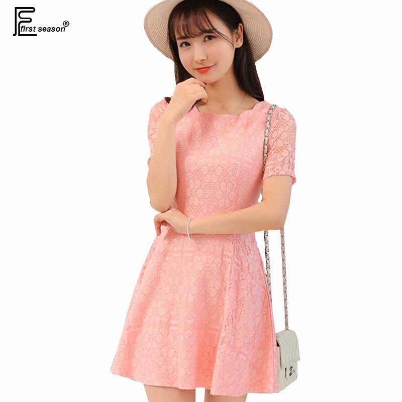Korean Work Dress Short Sleeve Promotion-Shop for Promotional ...