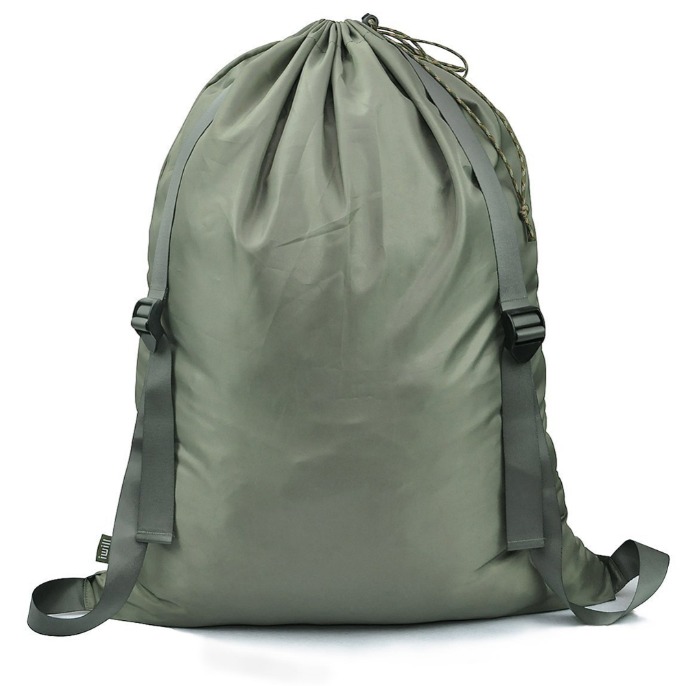 Strong Resistant Oxford Cloth  Laundry Bag Adjustable Shoulder Straps Drawstring Closure Students College Laundry Backpack Bag