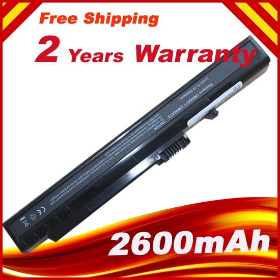 2600mAh Replacement Laptop Battery For Packard Bell Dot S Dot/S UM08B64 UM08A71 UM08A72 UM08A73 UM08A74 2600mah replacement laptop battery for packard bell dot s dot s um08b64 um08a71 um08a72 um08a73 um08a74