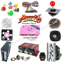 Jamma Arcade game kit pandora 1300 in 1 arcade DIY spare parts to built Bar-top machine or upright cabinet