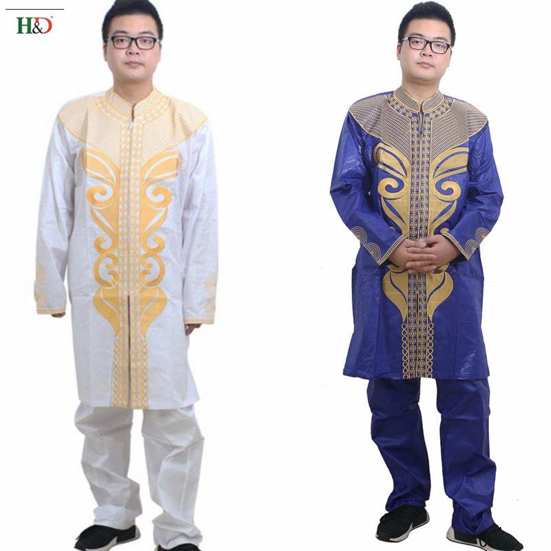 H   D 2018 ropa africana para hombre dashiki bazin riche bordado moda  algodón África ropa masculina tops trajes tradicionales en Africa Ropa de  La novedad y ... 441941e10ff