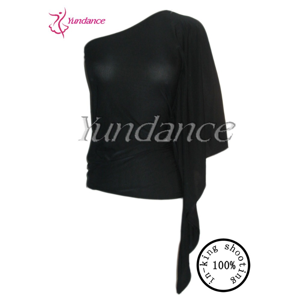 T 156 2015 Black Dancing Top for Latin Dance