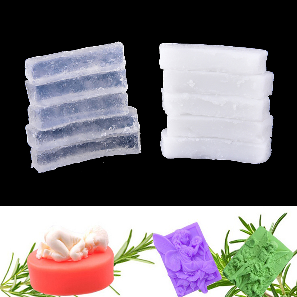 New 250g Transparent Soap&white Base DIY Handmade Raw Materials Base For Soap Making 2Colors