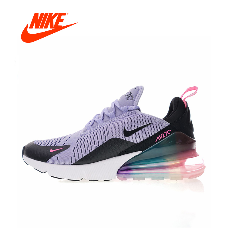 купить NIKE Air Max 270 Women's Running Shoes Sneakers Sports Outdoor Low Top Breathable Shock Absorbing Lightweight Brand Designer по цене 6282.29 рублей