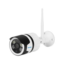 ESCAM QF508 HD 1080P 2.0MP Waterproof Outdoor Full Color Night Vision Security WiFi IP Camera, Infrared Bulllet Camera