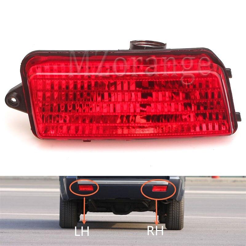 Mzorange Tail light for Jeep Grand Cherokee Red Len Rear Bumper Reflector Fog Brake Warn Light 2006,2007,2008,2009,2010Car Style
