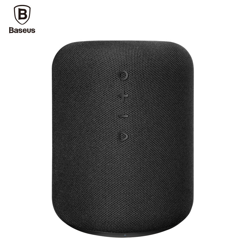 Baseus E50 Portable Bluetooth Speaker With Qi Wireless Charger Function Fast Charging Loudspeaker For iPhone Samsung Xiaomi baseus e50 24w bluetooth speaker with wireless charger function qi wireless charger speaker for iphone x samsung xiaomi huawei