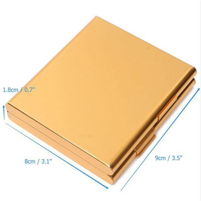 Aluminum Cigarette Case for 20 Cigarettes 2
