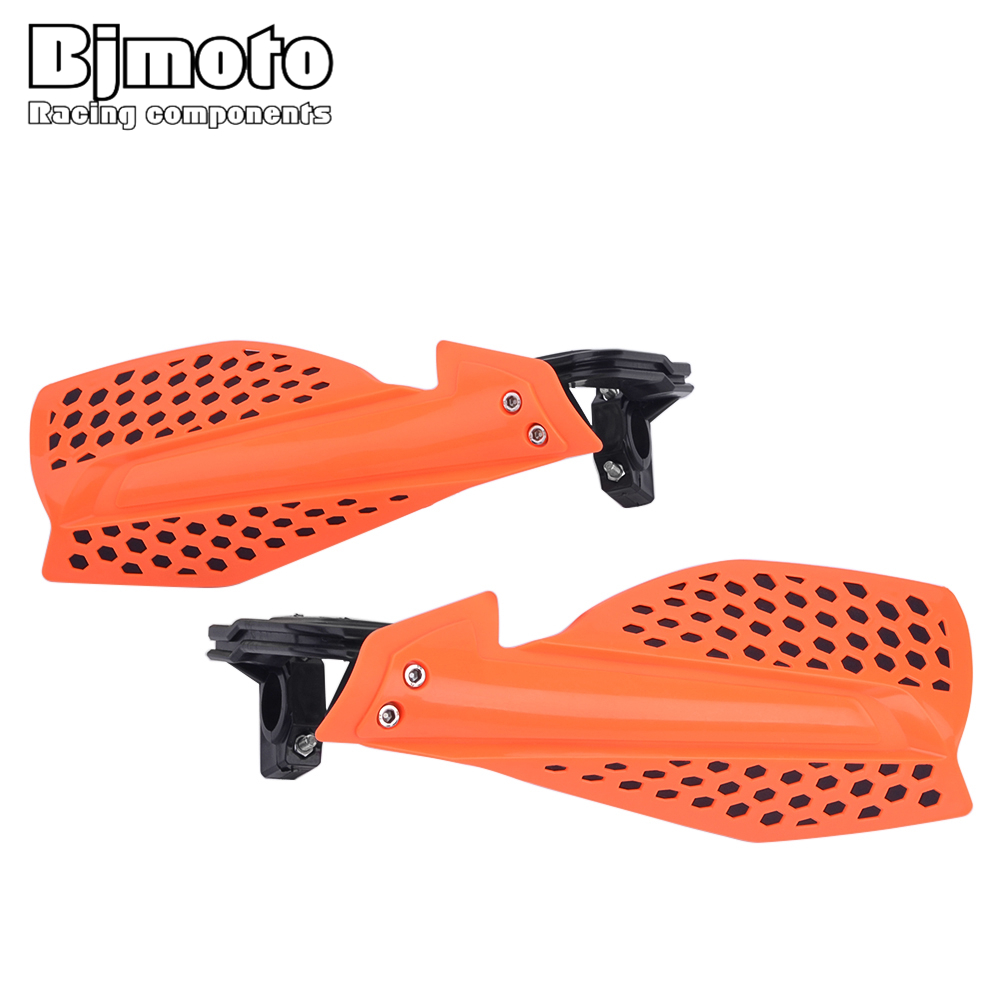 BJMOTO Enduro Motocross Motorcycle Handguard Hand Guards Handguards Protector For KTM IRBIS TTR CRF YZF WRF KXF 22mm Handlebar 2pcs motorcycle handguards hand guards protectors 7 color option motocross protector universal plastic for monster