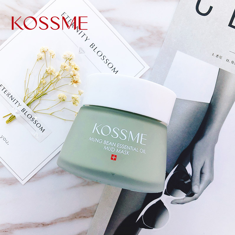 KOSSME Skin Cleansing Mask 120g Mung Bean Mud Facial Skin Care Shrink Pores Oil Control Acne Treatment Facial Mask 01ES