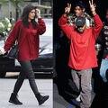 Жизнь Пабло Kanye West Yeezys Балахон Мужчины Хип-хоп Тянуть Париж OpeningTour Я чувствую, Павел Yeezy Кофты куртки