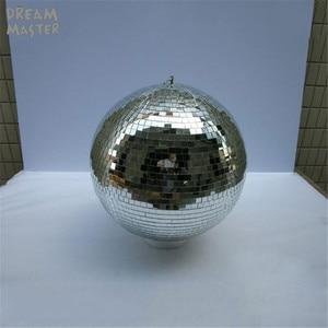 """Image 2 - D40cm * 40Cm 15.7 """"Inch Grote Spiegel Ballen Voor Verlichting/Roterende Disco Ball Met Gratis Elektrische Motor voor Dj Lichten Bruiloft Eevent"""