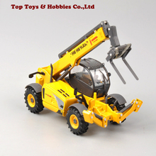 Коллекция детских игрушек, литье под давлением 1/50, телепогрузчик LM1745, турбо, строительная модель грузовиков