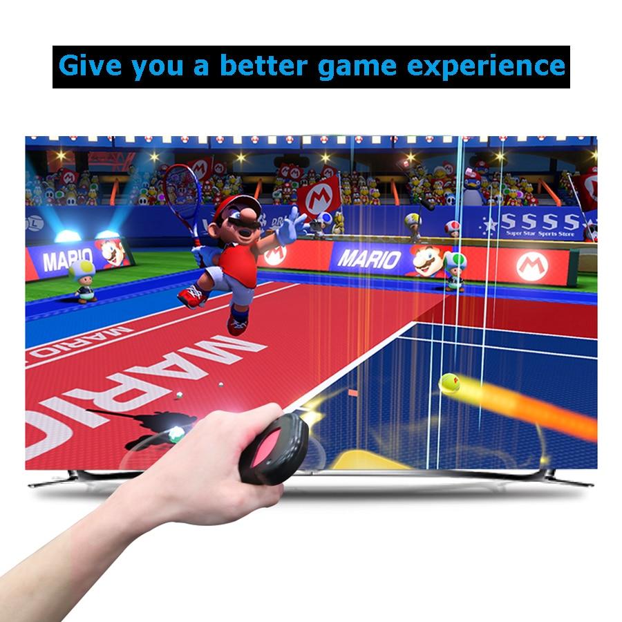 2 pcs Nintend Switch Accessories Joystick Gamepad Grips Holder Nintendos NS Steering  Wheel Handle for Nintendo Switch  1