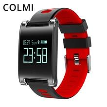 COLMI DM68 ALÉM de Pressão Arterial Monitor de Freqüência Cardíaca de Fitness do Bluetooth Pulseira Inteligente Pulseira Lembrete Chamada Rastreador Atividade
