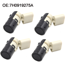4 PCS Parking PDC Sensor For Audi A3 A4 A6 RS4 RS6 S3 S4 S6 7H0919275A 7H0919275D 7H0919275F carbon cabin air filter for audi s6 s4 rs6 a6 a4 rs4 4 2 allroad quattro a6 a4 quattro car styling accessories oe 8e0819439